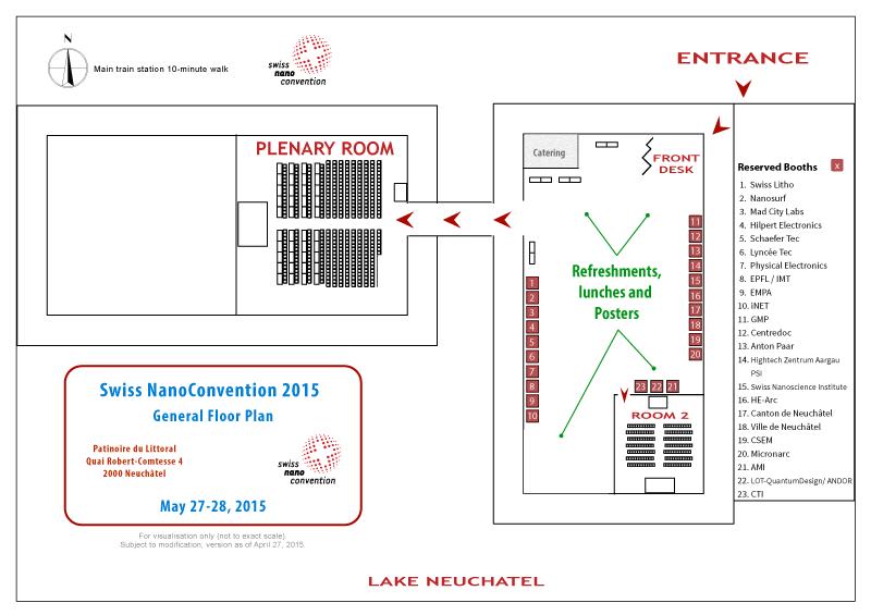 SNC 2015 Floorplan